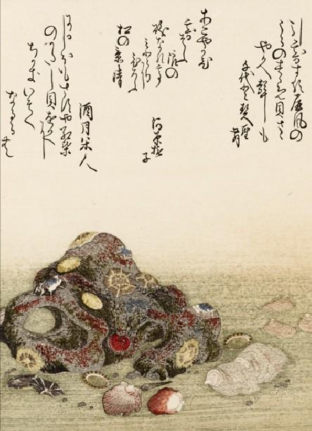 Livre de poésies illustré par Utamaro