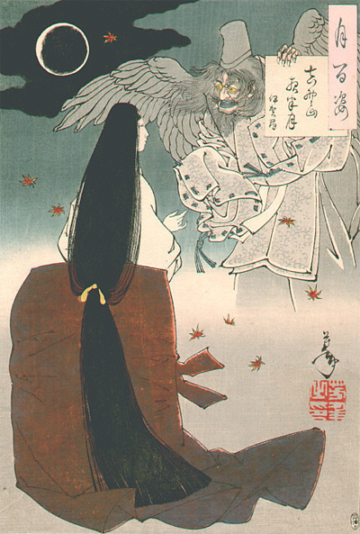 estampe de fantome par yoshitoshi