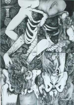 gravure de Yamamura Mayuko