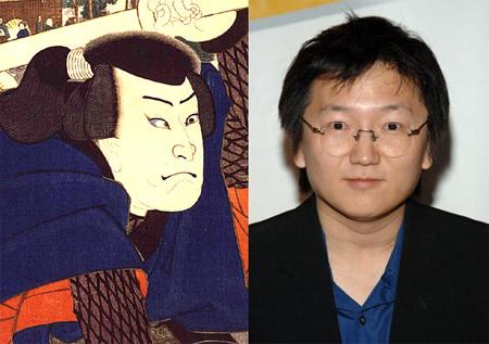 portraits de musashi et nakamura