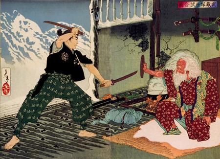 musashi contre un vieux maître