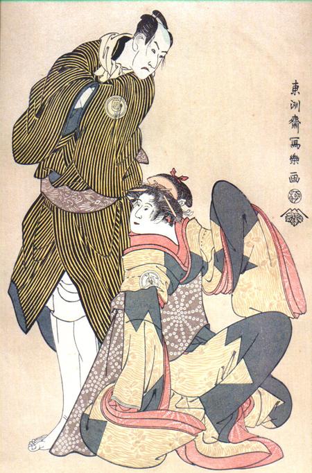 estampe kabuki de sharaku
