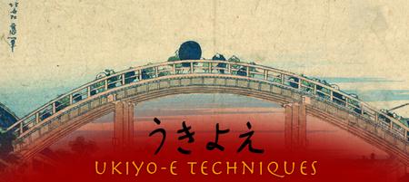 ukiyo-e techniques copie d'écran