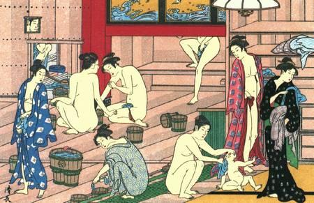estampe art du bain