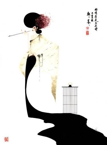Estampes japonaises Kim-style