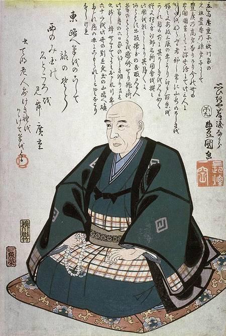 portrait à la mémoire d'Hiroshige