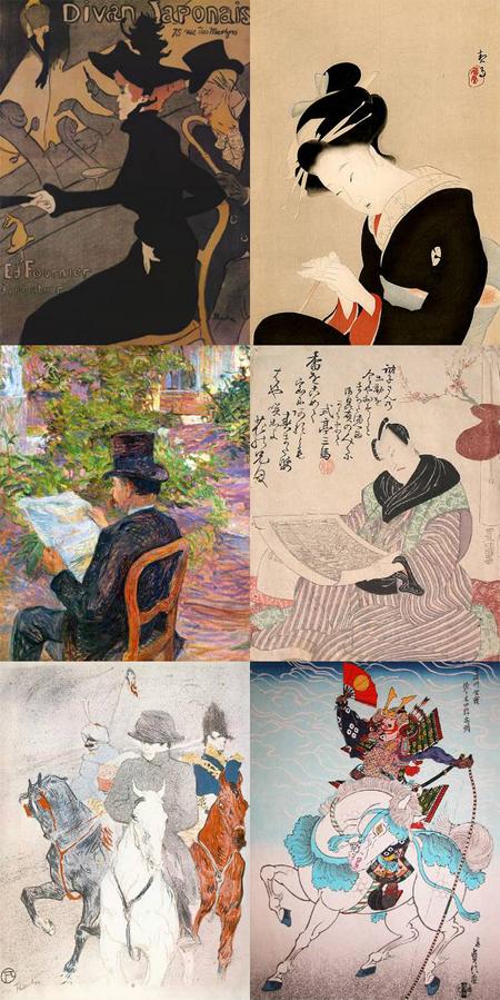 le japonisme de Toulouse-Lautrec