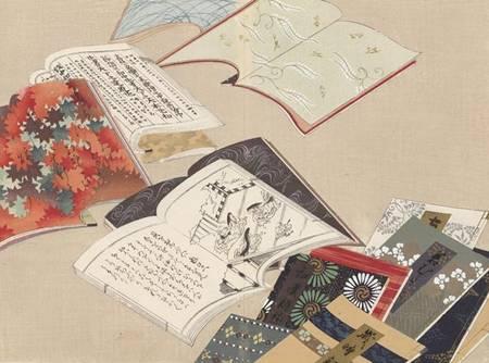 livres illustrés du Japon