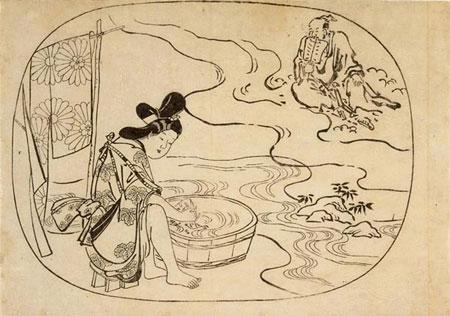 estampe de Moronobu