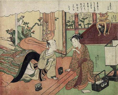 estampe d'Harunobu