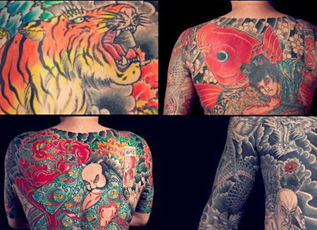 tatouages d'Horiyoshi