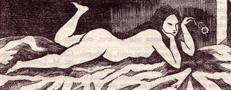 gravure de foujita