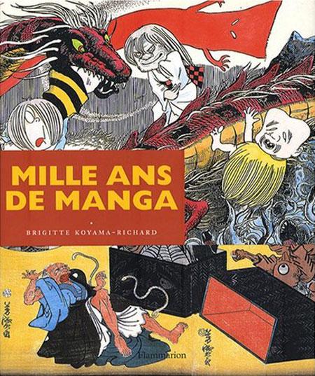 couverture de mille ans de manga