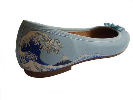 chaussure ukiyo-e