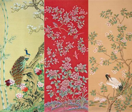 papiers peints japonisant